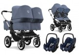 Bugaboo Donkey 2 Twin set 3-in-1 with Maxi Cosi