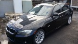 Bmw 328i black inside black