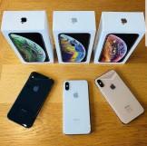 Apple iPhone XS 64GB € 400 iPhone XS Max 64gb € 430 iPhone X 64gb € 300 iPhone XR 64gb € 340