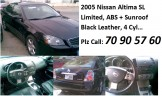 2005 nissan Altima sl limited 4 cyl
