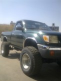 tacoma BIG FOOT   4 CYL. 4X4