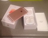 New iPhone 6 S Plus 128gb Rose Gold