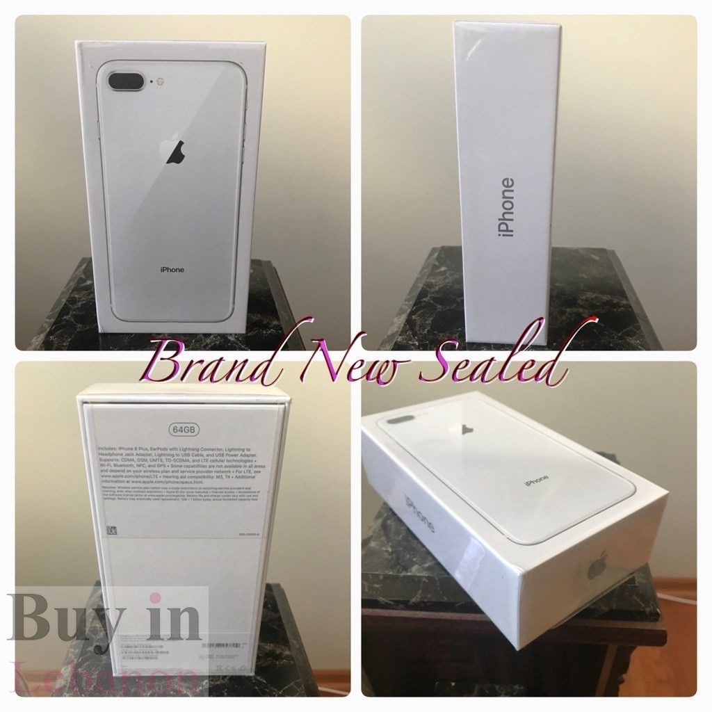 a869defe9df Buy In Lebanon   Phones Lebanon - Apple iPhone 8 And 8 Plus (64 256 ...
