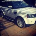 Range Rover Hse  2011  WhiTe  BLacK