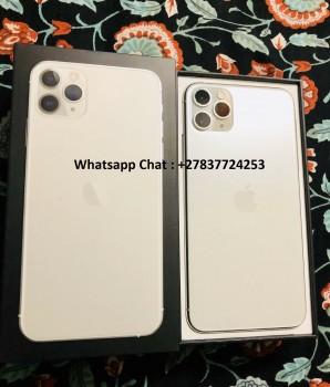 Apple iPhone 11 Pro 64GB = $600USD , Apple iPhone 11 Pro Max 64GB =  $650USDApple iPhone 11 64GB = $470,Apple iPhone XS 64GB = $450USD , iPhone XS Max 64GB = $480USD , Whatsapp Chat: +27837724253