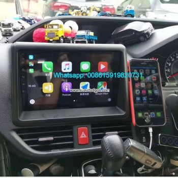 Toyota Noah Car audio radio android GPS navigation camera