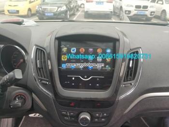 MG 5 Car stereo audio radio android GPS navigation camera