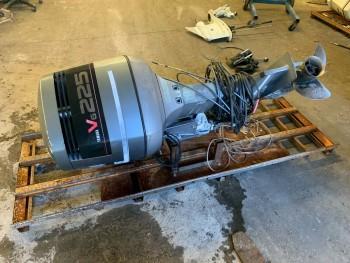 1992 Yamaha 225 Carbureted Carb 2-Stroke 25 Outboard Boat Motor Engine V6 200