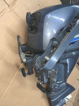 2 Yamaha 4 Stroke 15HP Outboard Marine Engine 15 Shaft