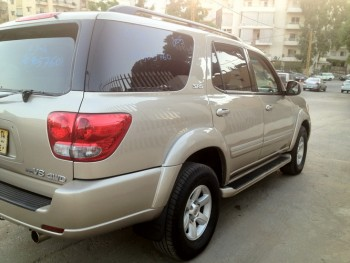 toyota SEQUOIA-LAND CRUISER 4X4