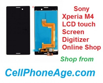 WTS Sony Xperia M4 LCD touch screen digitizer